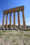 baalbeck kolumny Lebanon rzymski Obrazy Royalty Free
