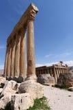 baalbeck lebanon Royaltyfri Bild