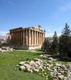 Baalbeck, Lebanon. Famous Roman Columns at Ancient Roman Archaeological Site, Baalbeck, Lebanon Stock Photos