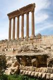 baalbeck lebanon Arkivbilder