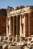 baalbeck Lebanon stare ruiny świątynne Obraz Royalty Free