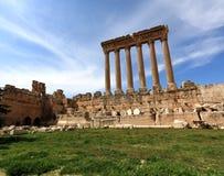 Baalbeck, Liban image stock