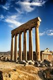 Baalbeck ruins Stock Photography