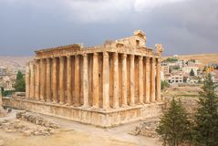 Baalbeck Temple Stock Images
