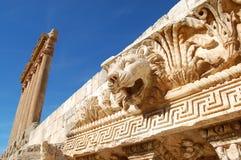 baalbek黎巴嫩 免版税图库摄影