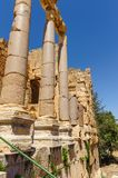 Baalbek Ancient city in Lebanon. Stock Images
