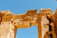 Baalbek Ancient city in Lebanon. Stock Photography