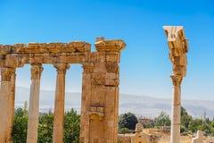 Baalbek Ancient city in Lebanon. Stock Photo