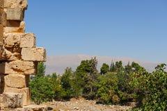 Baalbek Ancient city in Lebanon. Stock Image