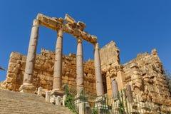 Baalbek Ancient city in Lebanon. Royalty Free Stock Photos
