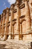 Baalbek baahus temple; Lebanon Stock Photo