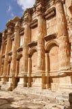 Baalbek baahus temple; Lebanon Stock Photo