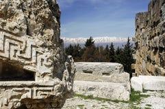 Baalbek, Bekaa Valley, Líbano fotos de stock