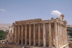 Baalbek, der Libanon Stockfotos
