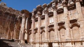 Baalbek fördärvar. Libanon royaltyfri fotografi