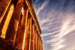Baalbek Heliopolis Stock Photo