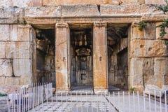 Baalbek Historisch Oriëntatiepunt 59 royalty-vrije stock afbeeldingen