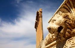baalbek lebanon Royaltyfri Foto