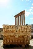 Baalbek, Libano, Medio Oriente Immagine Stock Libera da Diritti