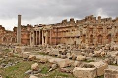 Baalbek - ruines de ville phénicienne antique Photos libres de droits
