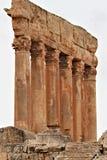 Baalbek - ruines de ville phénicienne antique Photo stock