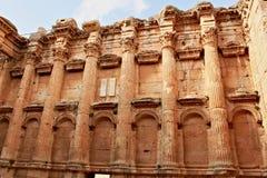 Baalbek - ruines de ville phénicienne antique Photo libre de droits