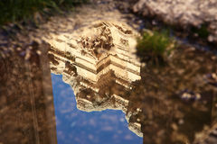 Baalbek ruins Royalty Free Stock Photo