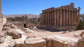 Baalbek ruins. Lebanon Stock Images