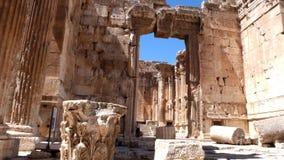 Baalbek ruins. Lebanon Stock Image