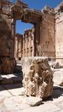 Baalbek ruins. Lebanon Royalty Free Stock Images