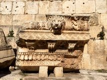Baalbek UNESCO World Heritage Site Royalty Free Stock Photo