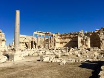 Baalbek UNESCO World Heritage Site Royalty Free Stock Photos