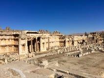 Baalbek UNESCO World Heritage Site Stock Photo