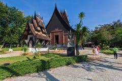 Baan水坝,艺术馆在清莱,泰国 库存照片
