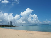 Baan Amphoe strand Arkivfoto