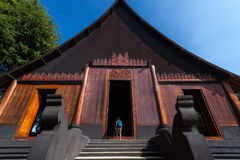 Baan Ogrobla, muzeum sztuki w Chiang raja, Thailand Obraz Stock