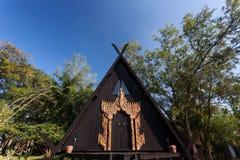 Baan Ogrobla, muzeum sztuki w Chiang raja, Thailand Fotografia Royalty Free