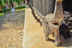 Baan-Verdammung in Chiang Rai Thailand 4 Lizenzfreies Stockfoto