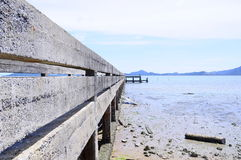 Baan yamu pier Royalty Free Stock Photos