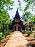 Baandam galeria & muzeum Tajlandzki stylowy tradycyjny drewniany dom obrazy royalty free