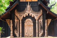 Baandam-Museum in ChiangRai, Thailand Stockbilder