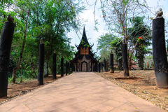 Baandam Museum in ChiangRai,Thailand Royalty Free Stock Photography