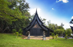 Baandam Museum & Gallery or Black House in Chiang Rai, Thailand. Royalty Free Stock Photo