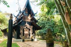 BAANDAM the thai style tradition Chiang Rai, Thailand Royalty Free Stock Images