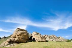 baatar близкие утесы ulaan Стоковые Изображения