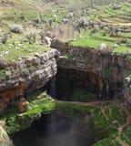 Baatara Sinkhole, Lebanon Stock Image