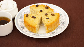 Baath Cake or Semolina and coconut cake from Goa, India Stock Photography