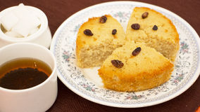 Baath Cake or Semolina and coconut cake from Goa, India Stock Images