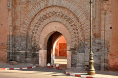 Bab Agnaou - city gate in Marrakech Stock Photography