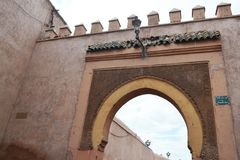 Bab Agnaou Marrakesh stockfotos